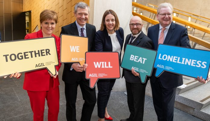 Scottish political parties unite to beat loneliness